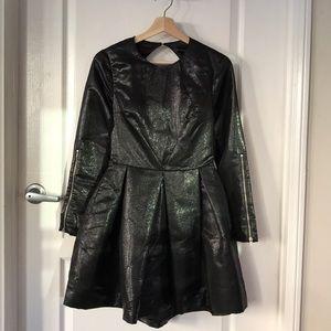 Nasty Gal Iridescent Mini Dress